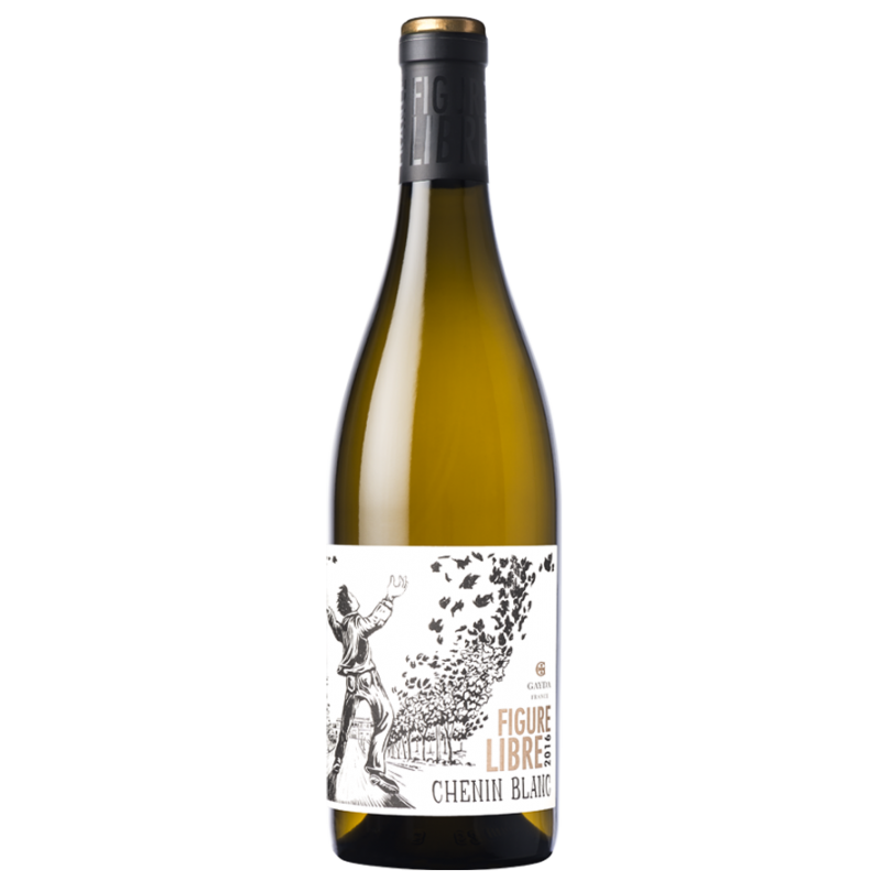 Chemin blanc Domaine Gayda Figure libre Le vin du Sud