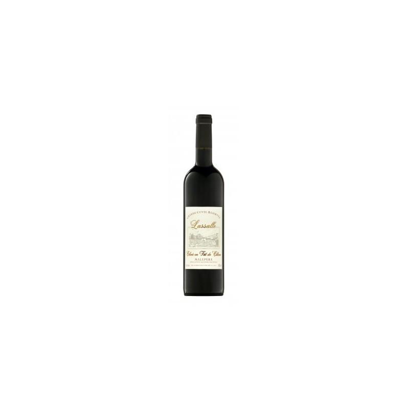 Domaine Lassalle fût de chêne vin rouge Le vin du Sud