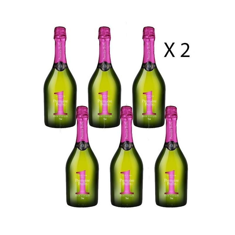 Blanquette Brut première Bulle - Lot de 12 bouteilles le vin du sud