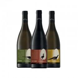 Gamme 3 vins Terroirs des dinosaures 2019 Anne de Joyeuse
