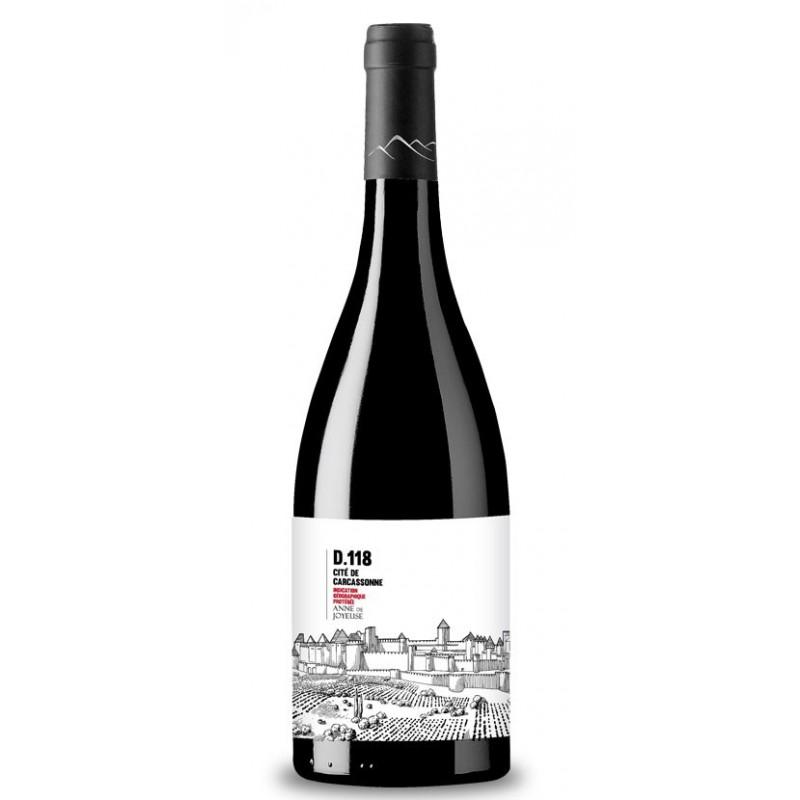 D118 Cité de Carcassonne rouge Anne de Joyeuse Le Vin du Sud
