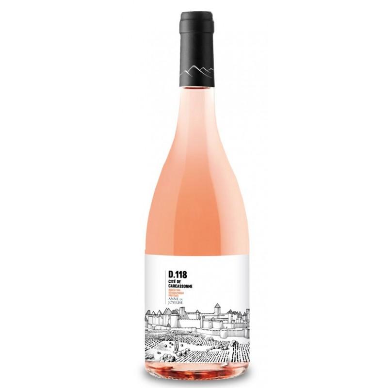 D118 Cité de Carcassonne rosé Anne de Joyeuse Le Vin du Sud