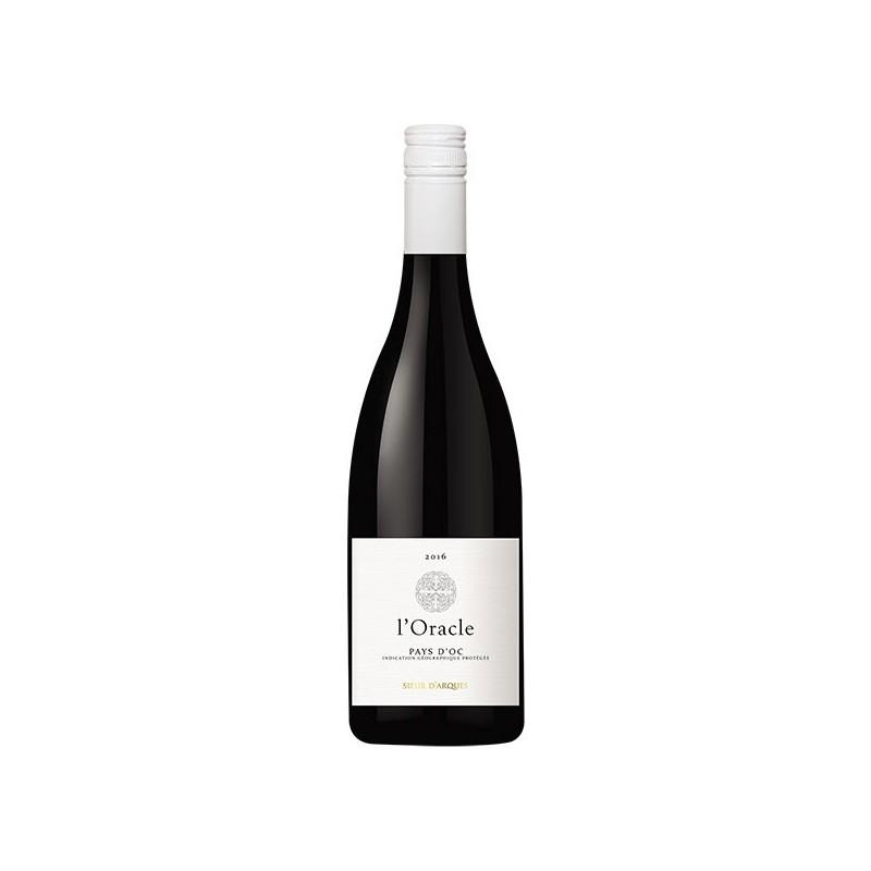L'ORACLE Merlot rouge Sieur d'Arques 2018 Le Vin du Sud