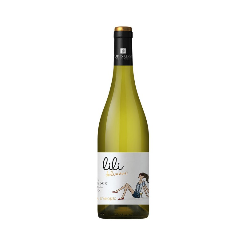 LILI de Limoux vin blanc Bio Sieur d'Arques LE vin du Sud