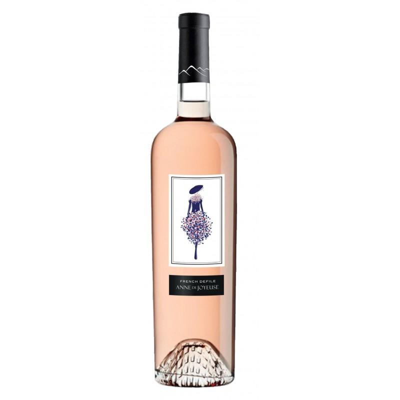 French défilé Vin rosé - Anne de joyeuse Le vin du Sud